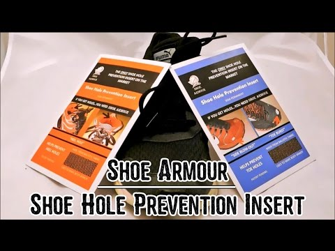 Shoe Armour - Shoe Hole Prevention Insert | Review and Tutorial