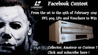 Facebook Halloween Laserdisc World  Contest