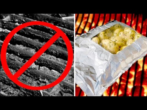 Best CLEAR Grill Foil Pack - Cook Food PERFECTLY on BBQ w/ NO Clean Up