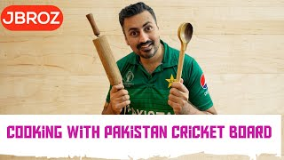 Cooking with Pakistan Cricket Board (PCB) | Shoaib Akhtar | Babar Azam| Pakistan Cricket