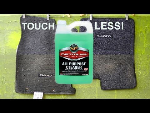 How to Clean Carpet Floor Mats : Meguiars All Purpose Cleaner