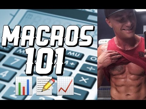 How To Calculate Your Own Macros | Bulking & Cutting
