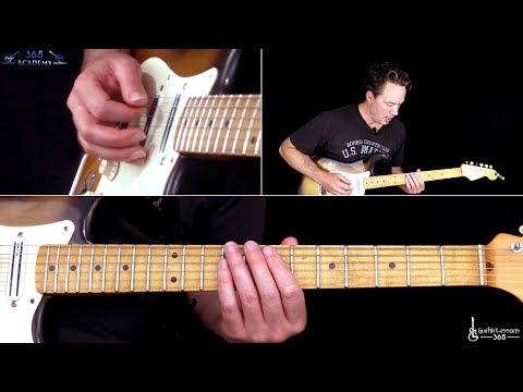 Ozzy Osbourne - Diary of a Madman Guitar Solo Lesson - Randy Rhoads