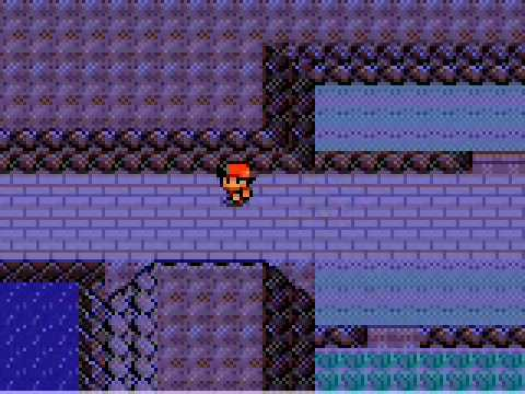 Pokemon Crystal: Getting to Mt. Silver.