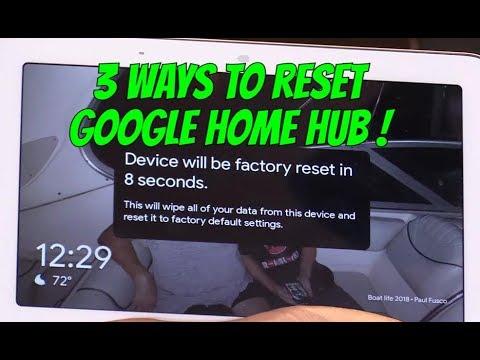 3 Ways to Reset Google Home Hub, Easy Fix !!!
