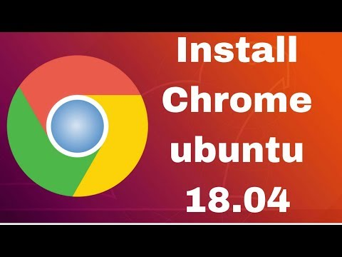 how to install chrome browser in Ubuntu 18.04
