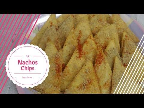 Nacho Chips - Homemade Nachos - Corn Tortilla Chips - Makki ke Chips