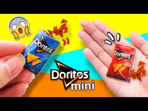 DIY MINIATURE DORITOS 🍴 How to make MINI DORITOS 🤔