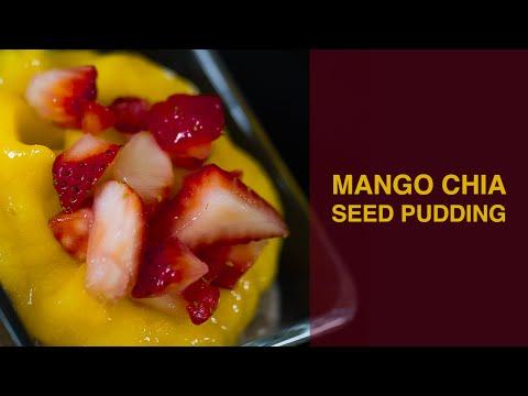 Diary Free Mango Chia Seed Pudding