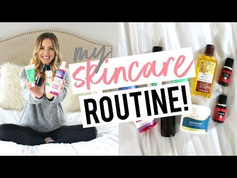 MY NON-TOXIC SKINCARE ROUTINE | Morning + Nighttime!
