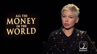 Michelle Williams Interview ALL THE MONEY IN THE WORLD 🌎