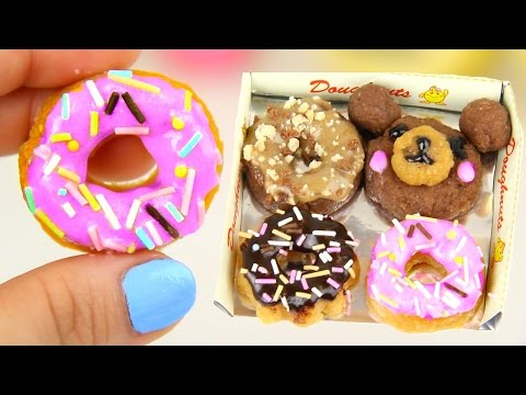 DIY MINI EDIBLE DONUTS! Make Tiny Donuts | Popin Cookin!