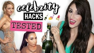 Celebrity Beauty Secrets TESTED | Do these hacks really work?-  [ But First, Coffee ]