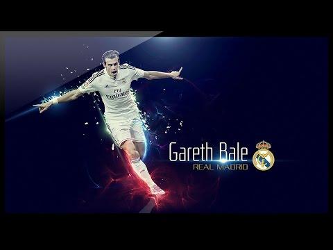 Photoshop Graphic Design - Football Wallpaper - Gareth Bale Wallpaper