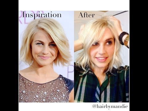 Julianne Hough Haircut Tutorial With Amy Whitcomb ||Transformation||SO CUTE