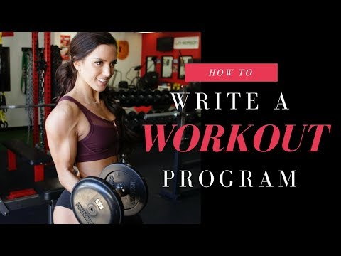 HOW TO WRITE A WORKOUT PROGRAM – made easy!