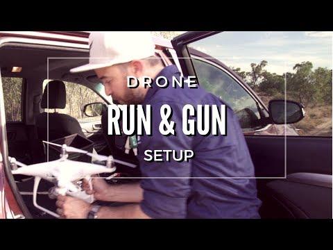 Drone Run and Gun Hack - Driving setup
