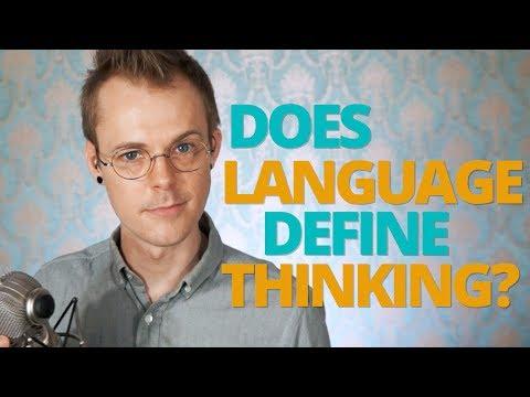 Does Language Define Thinking