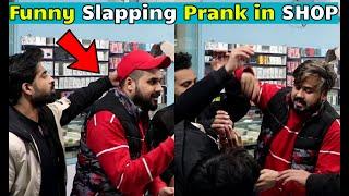 Funny Slapping Prank in Mobile Shop - Pranks in Pakistan - LahoriFied