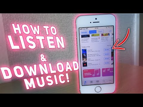 How To LISTEN To Music FREE! ( No Jailbreak / No Computer ) iOS 9/10/11 iPhone, iPod, iPad