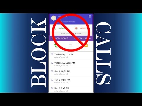 How To Block Calls on Android 6 | How to Block A Number on Android 6 | Call Block Android Devices