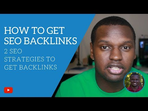 2 SEO Strategies to Get Backlinks Fast - How to get SEO Backlinks [Audio]