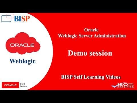 Weblogic 12c Server Administration