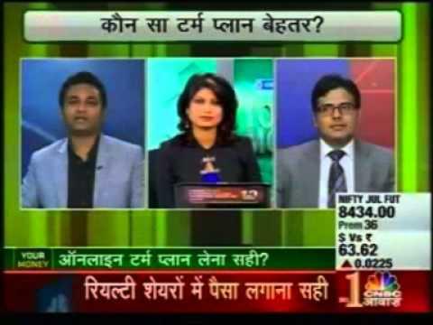 CNBC Awaaz 25th June 2015  | Health & Term Insurance Policy Tips | PolicyX.com