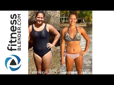 Fitness Blender Before and After - Changes After Weeks/Months/Years of Exercise & Clean Eating