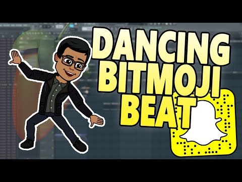 Making a Beat for My DANCING SNAPCHAT BITMOJI! (FL Studio Beatmaking)