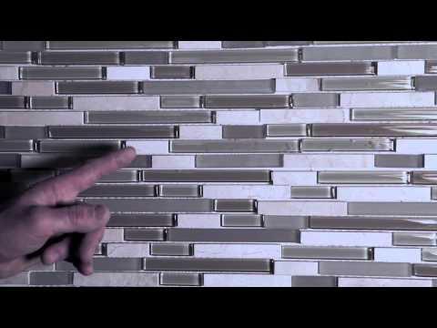 Vidéo d'installation pour carreaux muraux en mosaïque