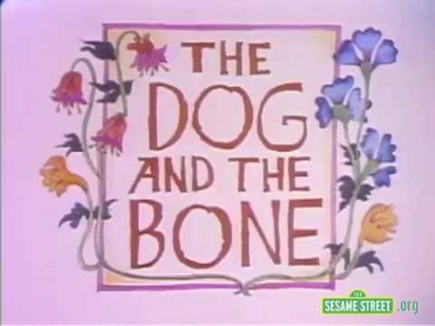 Classic Sesame Street animation: Dog and the Bone (Aesop's Fable)