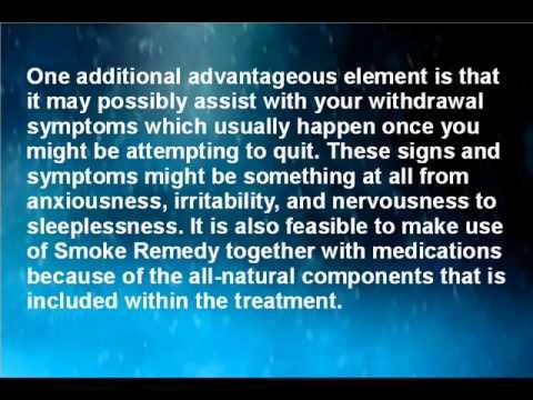 Smoke Remedy: Solution to Stop Smoking!
