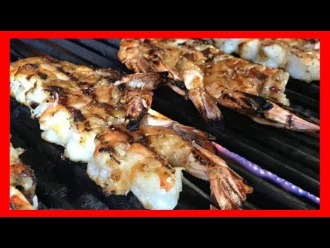 Grilled Shrimp With A Jack Daniels And Honey Glaze Recipe