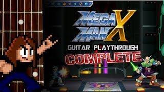 Mega Man X Guitar Playthrough (maverick Hunter X Version)