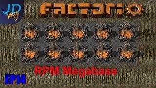 Factorio 0 17 Ep23 Nuclear Power   RPM Megabase - JD-Plays