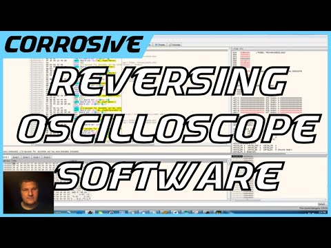 Reversing Oscilloscope Software With a Debugger and Serial Monitoring Application
