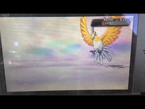 SHINY HO-OH IN OMEGA RUBY AFTER ~2383 SOFT RESETS! (No shiny charm)