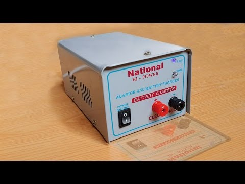 How to make 12 volt 5 Amp battery charger at home || DIY battery charger.