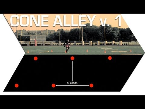 CONE ALLEY ver. 1 - FOOTBALL SPEED TRAINING
