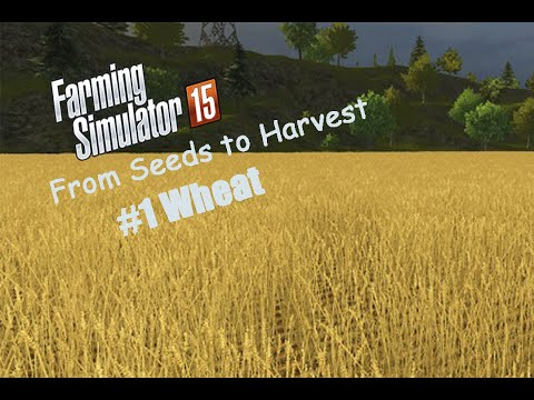 From Seeds To Harvest #1 Wheat | Farming Simulator 2015