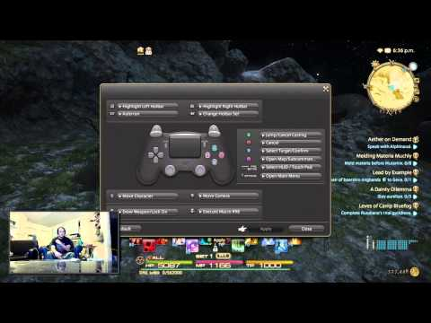 Ps4 controller setup ffxiv | Share your PS4/controller SCH cross