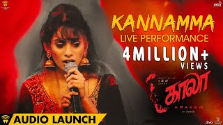 Kannamma Live Performance at Kaala Audio Launch | Rajinikanth | Pa Ranjith | Santhosh Narayanan