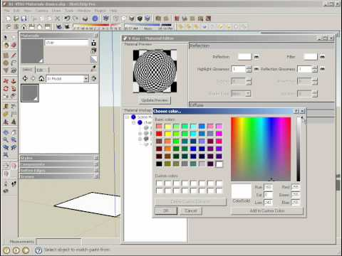 V-Ray for SketchUp Material Basics