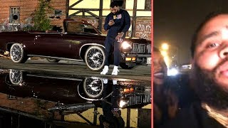 "Kevin Gates Riding Through Chicago With The Top Down On His ""Chained To The City"" Vibes"