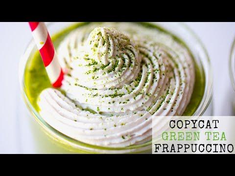 Vegan Copycat Green Tea Frappuccino