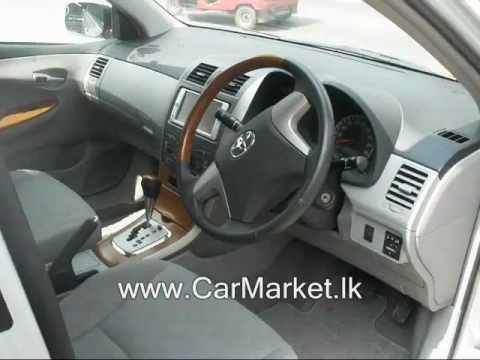 Toyota Corolla Axio for sale at CarMarket.lk