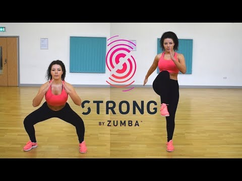STRONG by ZUMBA 💪Legs (squats & lunges) This is what you came for