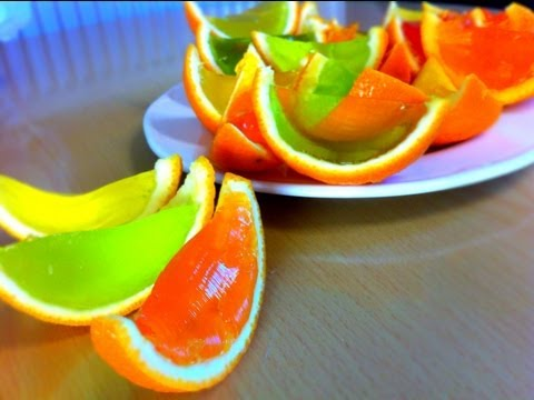 Jelly Oranges Recipe