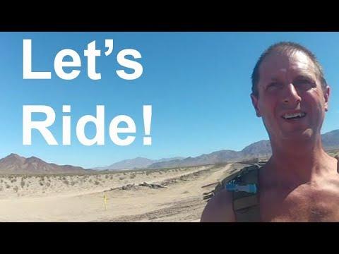 LET'S RIDE to Cadiz, California - 10-08-17 - 2004 BMW R 1150 GS Adventure motovlog